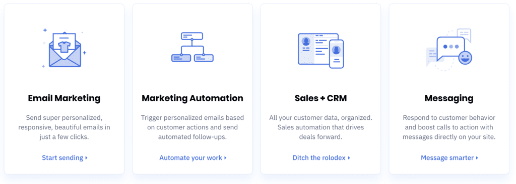 activecampaign business automation crm