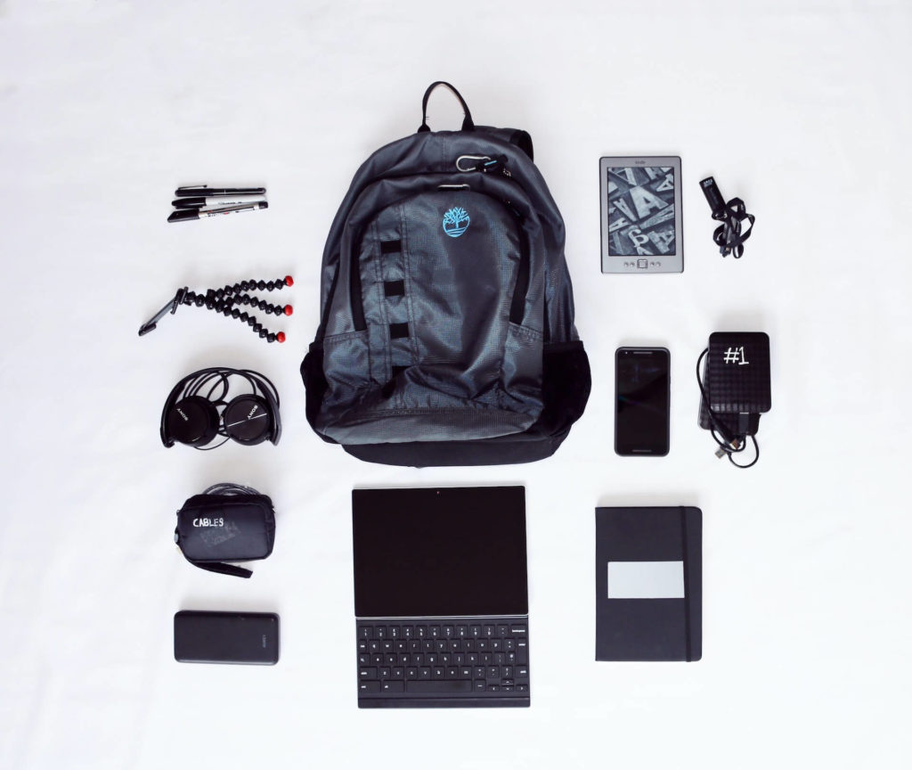 carry a backpack to lose weight